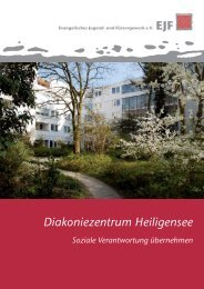broschuere dz 2011 - Diakoniezentrum Heiligensee
