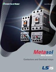 LSIS Contactor-Overload-EMPR-MMS