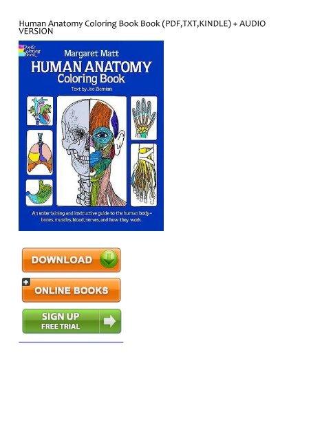 - LEFT BEHIND) Human Anatomy Coloring Book EBook PDF Download