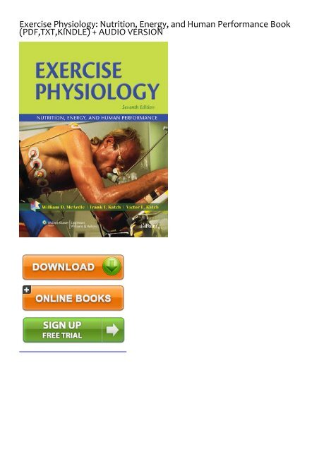 fitness nutrition books pdf