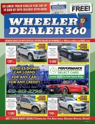 Wheeler Dealer 360 Issue 12, 2019