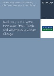Biodiversity in the Eastern Himalayas: Status, Trends and ...