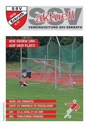 SSV aktuell, Ausgabe 12 Saison 2018/19