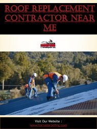 NRDCA 500 - Gypsum Roof Deck Replacement Procedures