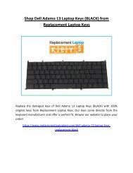 buy replacement keys for dell laptop