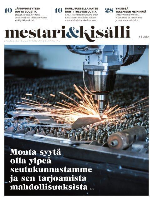 Mestari ja kisälli 1/2019