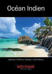 Brochure Ocean Indien | Lets Travel