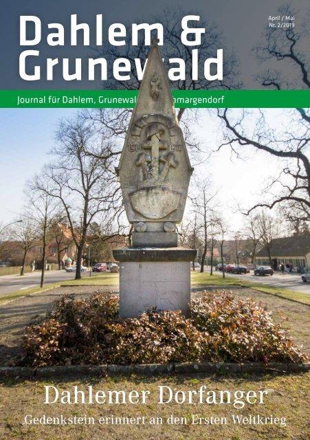 Dahlem & Grunewald Journal Apr/Mai 2019