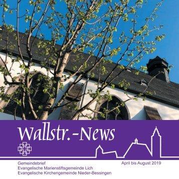 Wallstr. News 2019 / 02
