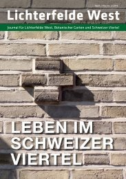 Lichterfelde West Journal Apr/Mai 2019