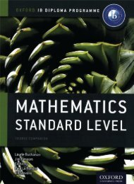 9780198390114, IB Mathematics Standard Level Course Book SAMPLE40