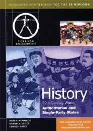 9780435032647, Pearson Baccalaureate History 20th Century World - Authoritarian and Single Party States SAMPLE40