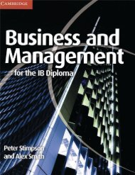 9780521147309, Cambridge Business and Management for the IB Diploma SAMPLE40