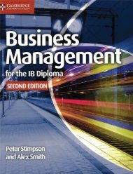 9781107464377, Business Management for the IB Diploma 2nd Edition SAMPLE40