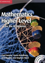 9781107661738, Mathematics Higher Level for the IB Diploma SAMPLE40