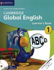 9781107676091, Cambridge Global English Learner's Book with Audio CD 1 SAMPLE40