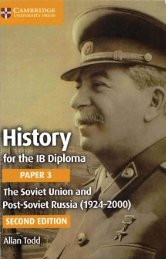 9781316503690, History for the IB Diploma Paper 3 The Soviet Union and Post-Soviet Russia (1924–2000} SAMPLE40