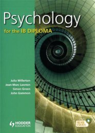 9781444181166, Psychology for the IB Diploma SAMPLE40
