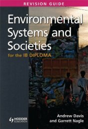 9781444192681, Environmental Systems and Societies for the IB Diploma Revision Guide SAMPLE40