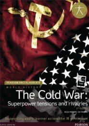 9781447982364, Pearson Baccalaureate History The Cold War - Superpower tensions and rivalries 2nd Edition textbook eText bundle SAMPLE40