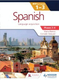 9781471881152, Spanish for the IB MYP 1-3 Phases 3-4 SAMPLE40