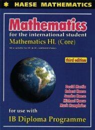9781921972119, Mathematics HL Core, 3rd Edition (Textbook   CD) SAMPLE40