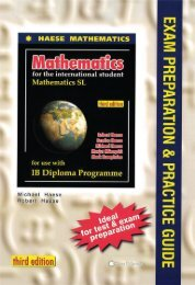 9781921972102, Mathematics SL Exam Preparation and Practice Guide, 3rd Edition SAMPLE40