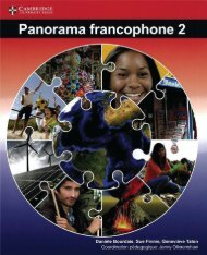 SHELF 9781107572676, Panorama Francophone 2 Livre de l'eleve SAMPLE40