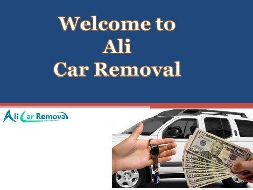 Car Removal Melbourne. Car for cash