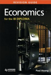 SHELF 9781471807183, Economics for the IB Diploma Revision Guide SAMPLE40