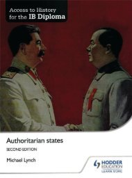 SHELF 9781471839306, Access to History for the IB Diploma Authoritarian States SAMPLE40