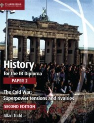 SHELF 9781107556324, History for the IB Diploma Paper 2 The Cold War SAMPLE40