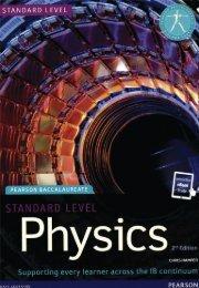 SHELF 9781447959083, Standard Level Physics 2nd edition book   eBook SAMPLE40