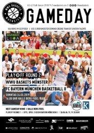 WWU Baskets Gameday #24 2018_19