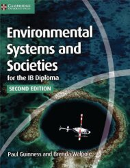 SHELF 9781107556430, Environmental Systems and Societies for the IB Diploma Coursebook SAMPLE40