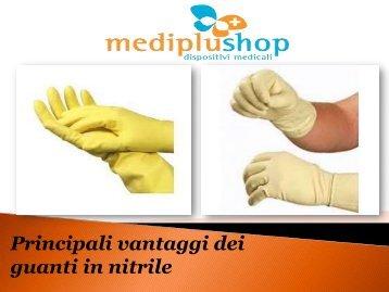 Principali vantaggi dei guanti in nitrile