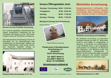 Fahrradmuseum Arnschwang