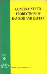 Bamboo And Rattan - INBAR