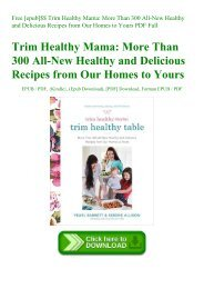 Free [epub]$$ Trim Healthy Mama More Than 300 All-New Healthy and Delicious Recipes from Our Homes to Yours PDF Full