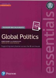 SHELF 9781447999263, Pearson Essentials Global Politics (Print   eText bundle) SAMPLE40
