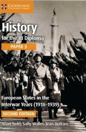 SHELF 9781316506462, History for the IB Diploma Paper 3 European states in the inter-war years (1918-1939) SAMPLE40