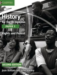 SHELF 9781107556386, History for the IB Diploma Paper 1 Rights and Protest SAMPLE40