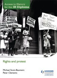 SHELF 9781471839313, Access to History for the IB Diploma Rights and Protest SAMPLE40