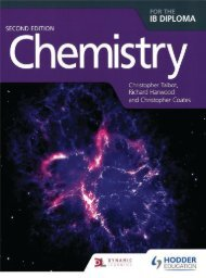 SHELF 9781471829055, Chemistry For The IB Diploma 2nd Edition SAMPLE40