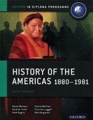 SHELF 9780198310235, History of the Americas 1880-1981 Course Book SAMPLE40