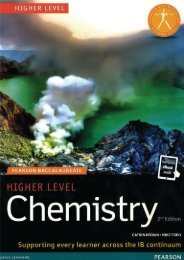 SHELF 9781447959755, Pearson Baccalaureate Chemistry Higher Level SAMPLE40