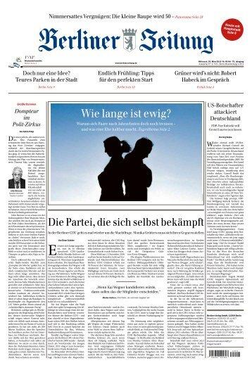 Berliner Zeitung 20.03.2019