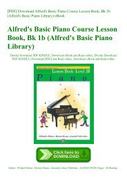 DOWNLOAD FREE Alfred s Basic Adult All-in-One Piano Course level 2