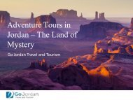 Adventure Tours in Jordan – The Land of Mystery