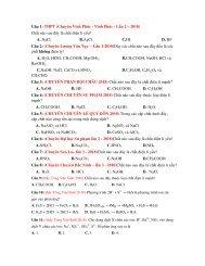 1556 câu lý thuyết Sự điện li, Ancol Phenol, Dẫn xuất Halogen, Cacbon Silic, Nito Photpho, Hidrocacbon, Andehit Xeton Axit cacboxylic, Đại cương về kim loại